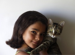Girl and_cat