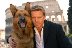 Cane protagonista de Il commissario Rex